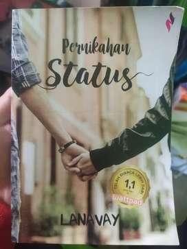 Buku Novel Pernikahan Status