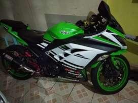 Kawasaki Ninja SE 250 cc, Km 15.000, full monifikasi orginal