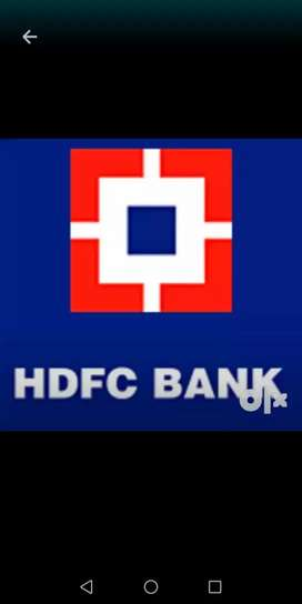 Immediately requirement in HDFC BANK location lucknow.