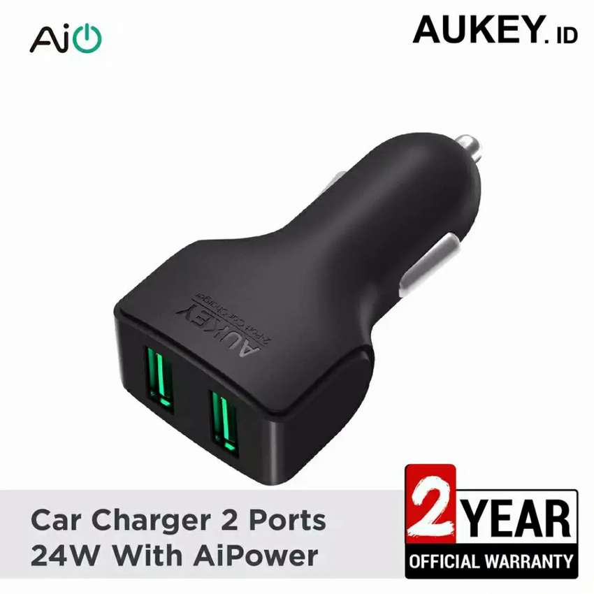 Aukey Car Charger 2 Port CC-S3 24W 0