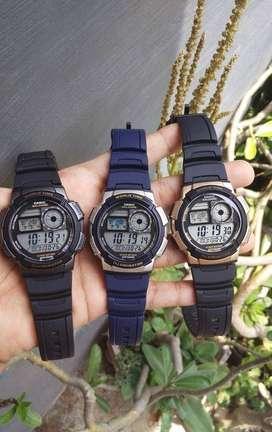 Jam Tangan Pria Casio AE-1000W Original Water Resist 100M