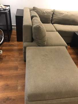 Moving out sale - very comfortable l shaped 7 seater