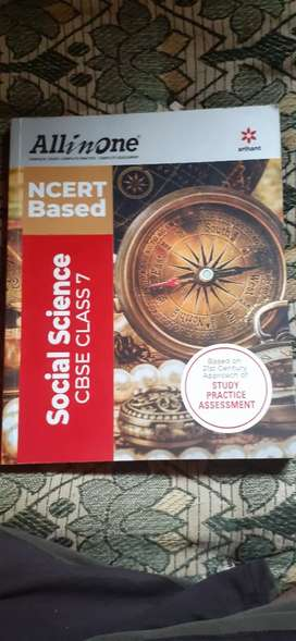 (NCERT,CBSE CLASS 7th ALL IN ONE SOCIAL SCEINCE BOOK