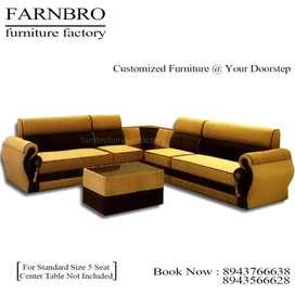 Luxury sofas offer for.festival sale