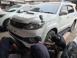 Fortuner lama upgrade fortunertrd dng part baru