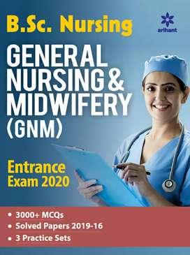 Bsc nursing 2020 & GNM Entrance exam Book