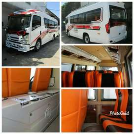 Ready Sewa mobil elf Hiace bus Sewa elf Haice bus bis medium 3/4