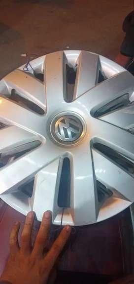 """Volkswagen Polo 15"""" Wheel Caps"""