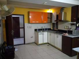 1besroom furnished flat for Rent in Qj heights Bahria town