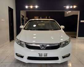 Honda Civic 2014 on Easy EMI Process 20%D.P One Step Solution Pvt.Ltd