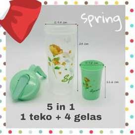 Teko gelas 5 in1
