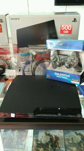 best seller ps3 slim 120gb-500 gb terjangkau berkualitas