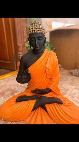Black and gold home decor Buddha for sale