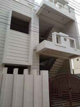 Duplex house well furnished bunglow