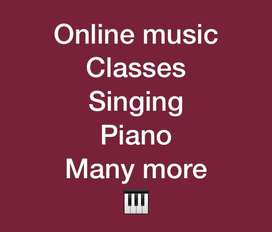 Online music clasess