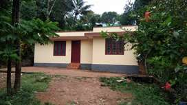 House near madappally temple. Roof with asbetoss sheet.