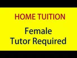 Female Home Tutor Required for iix and x
