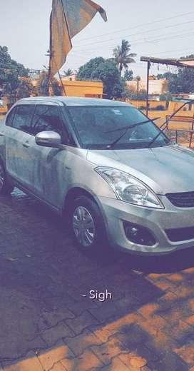 Maruti Suzuki Swift Dzire 2013 Petrol Well Maintained