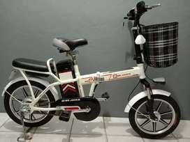 Sepeda Listrik Lipat Mr.Jacky EB-903 Siap Pakai