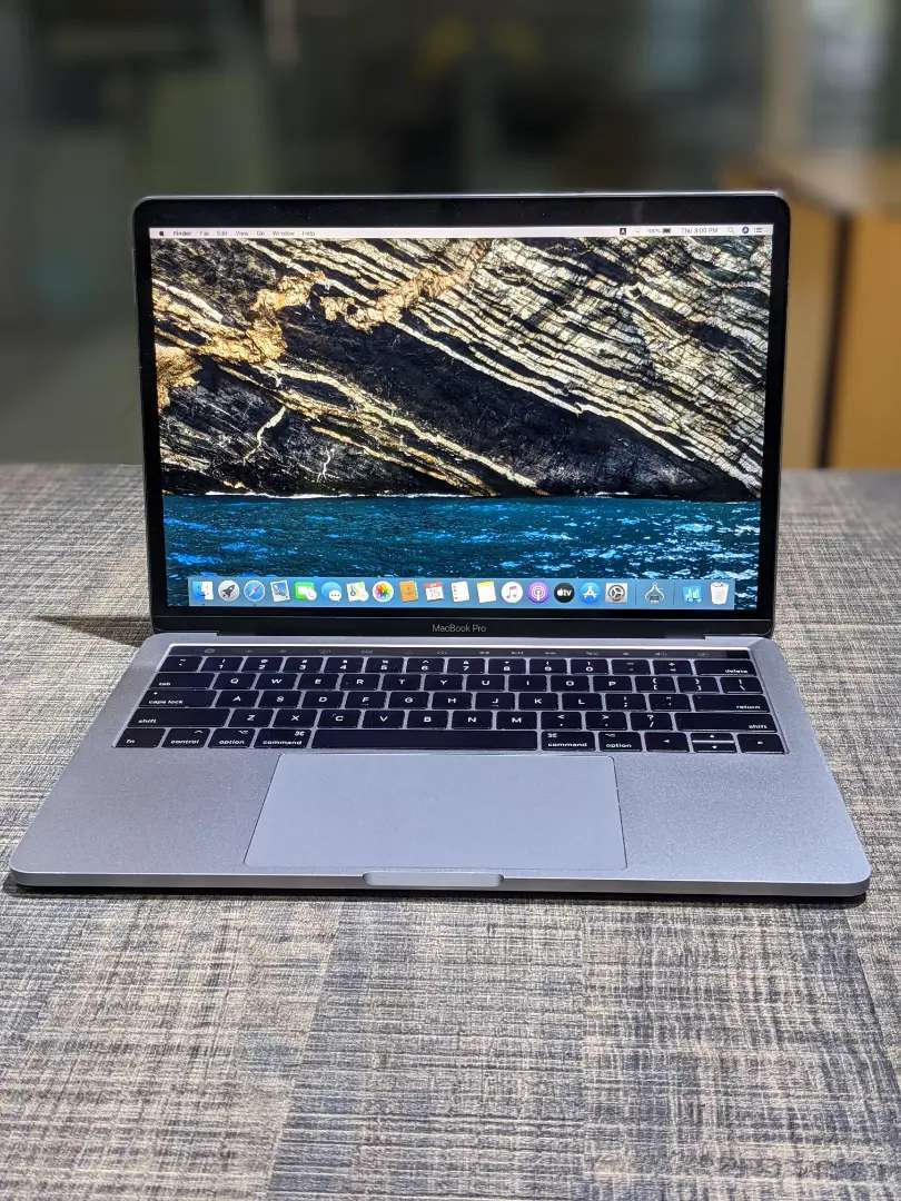 Macbook Pro 2017 13 inches Retina Display with 256gb SSD Storage.