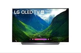 OLED 65 Inch C8P 4K HDR Smart OLED TV w/ AI ThinQ