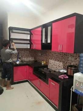 Kitchen set kstem bhan multiplek pling tbel 18 mili lapis HPL.tako