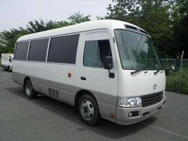 toyota coatser 2012 get your private business car in installment way