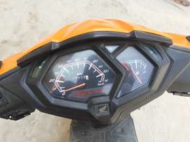 Honda dio orange for sale vehicle is in Excellent condition 10 months