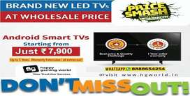 Now or Never Offer Branded Led Tvs(All Variants 24 to 65 Wholesale)