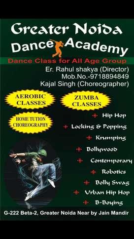 Dance, zumba & aerobic classes