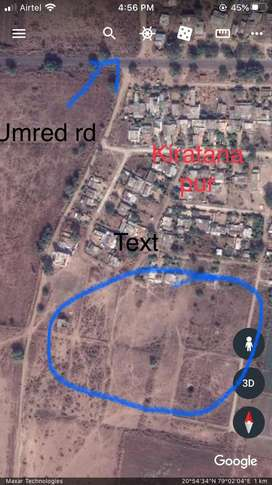Two Plots for sale on Umred Rd near Butibori