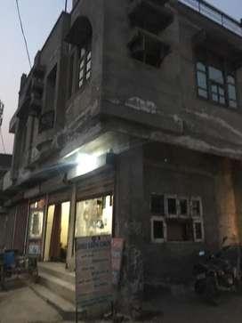 House in kuldeep nagar rajpura near sham palace with 2 floor
