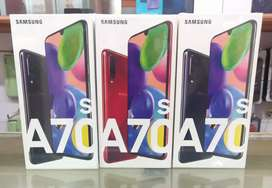 Samsung Galaxy A70s 6gb 8gb 128gb brand new 1year Warranty