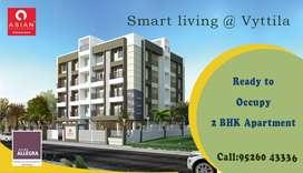 3 BHK Apartments at Chambakkara, Vyttila