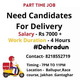 Food Delivery candidate