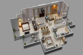 3 BHK budget Homes in new project kharadi