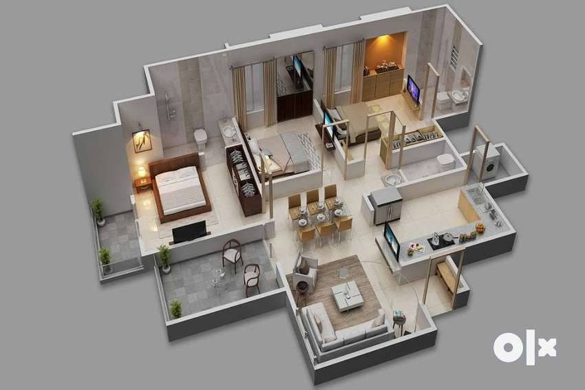 3 BHK budget Homes in new project kharadi 0
