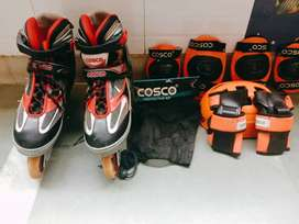 Cosco Liner Skates and Protective kit