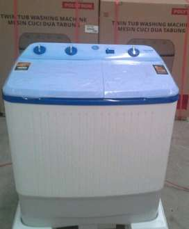 Mesin Cuci Polytron 2 Tub 7 Kg   BAYAR DITEMPAT