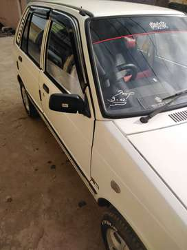 Mehran No accidental but compelete shower New tyre Alloyrim