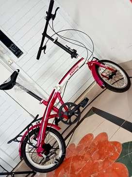 Sepeda lipat exotic R16
