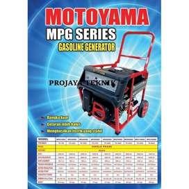 Genset Bensin Open Motoyama MPG3000E2 2000watt 1 Phase Baru Aceh