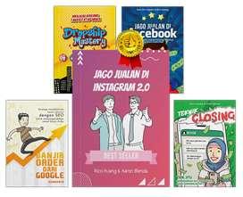 Flash Sale 5 in 1 Buku Jago Jualan Di Instagram , Facebook Rico Huang