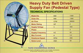 Heavy big size fan with stand