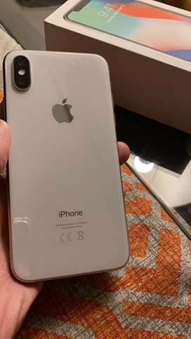 Iphone X 64 gb Pta approved with Box