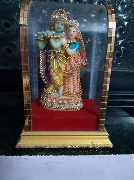 Radha Krishna show piece