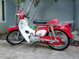 Modifikasi Honda C70 (basic mc legenda).