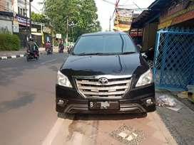 Toyota Inova G Luxury 2.0 At 2014 tdp 10 jt terima cash and credit