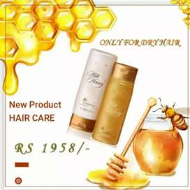 New product only dry hair