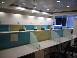 Fully furnished office available on rent in vashi